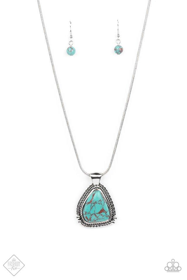 Artisan Adventure - Blue - Paparazzi Necklace Image
