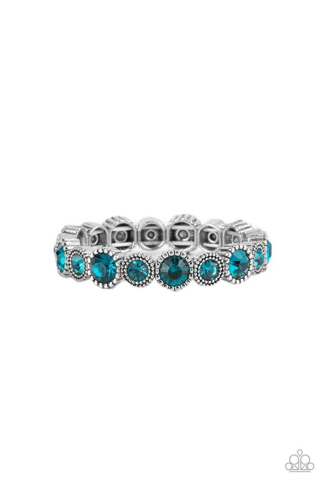 Phenomenally Perennial - Blue - Paparazzi Bracelet Image