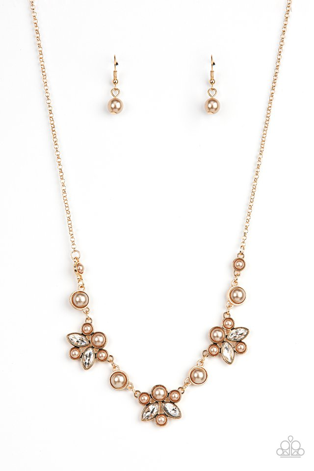 Royally Ever After - Brown - Paparazzi Necklace Image