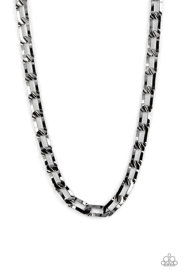 Full-Court Press - Black - Paparazzi Necklace Image