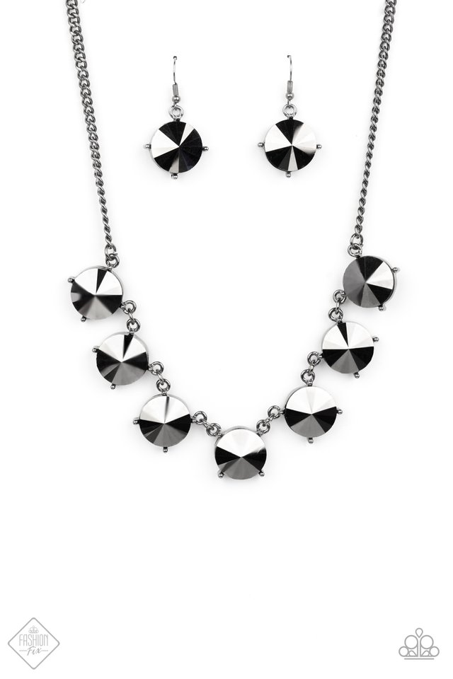 The SHOWCASE Must Go On - Black - Paparazzi Necklace Image