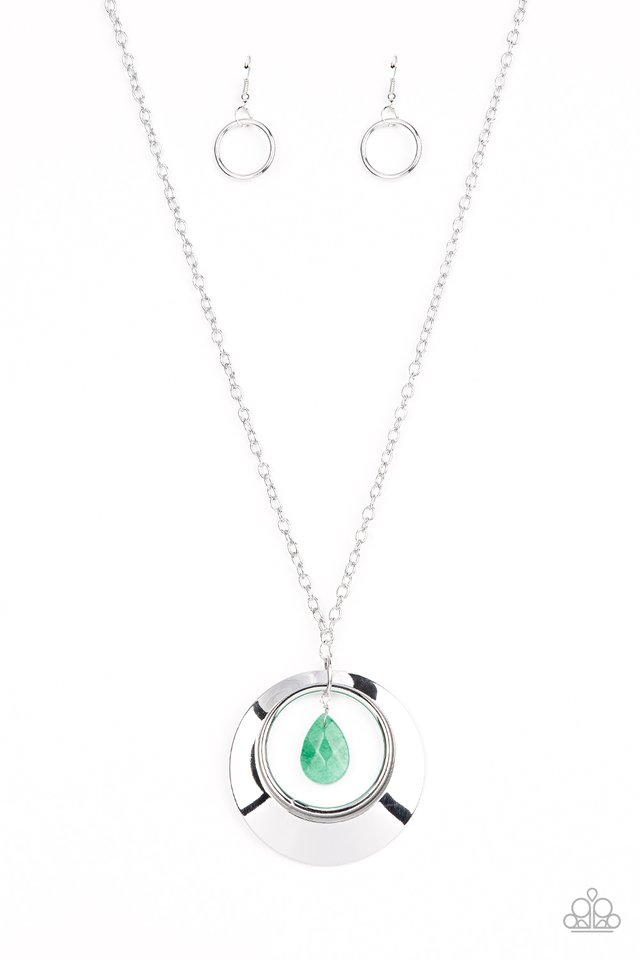Inner Tranquility - Green - Paparazzi Necklace Image