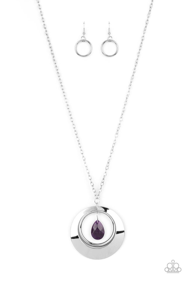 Inner Tranquility - Purple - Paparazzi Necklace Image