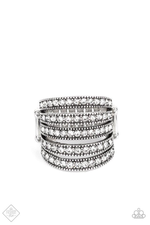 Empirical Sparkle - White - Paparazzi Ring Image
