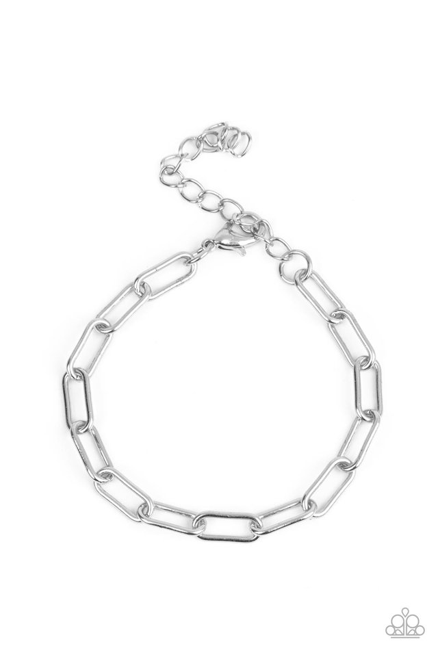 Tailgate Party - Silver - Paparazzi Bracelet Image