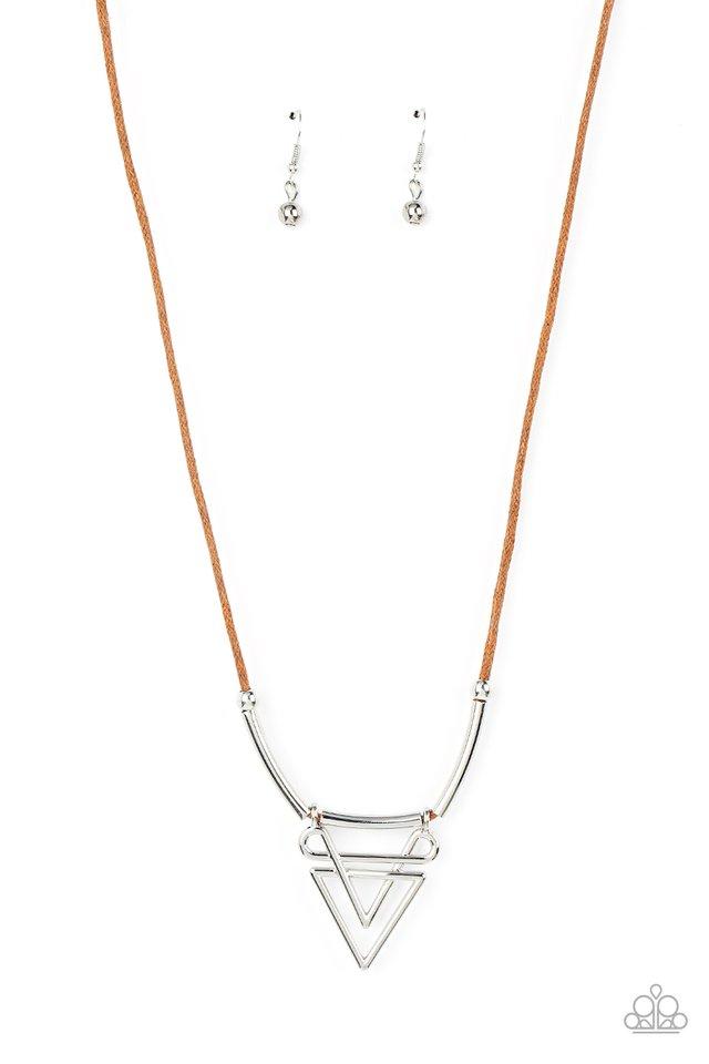 Tulum Totem - Brown - Paparazzi Necklace Image