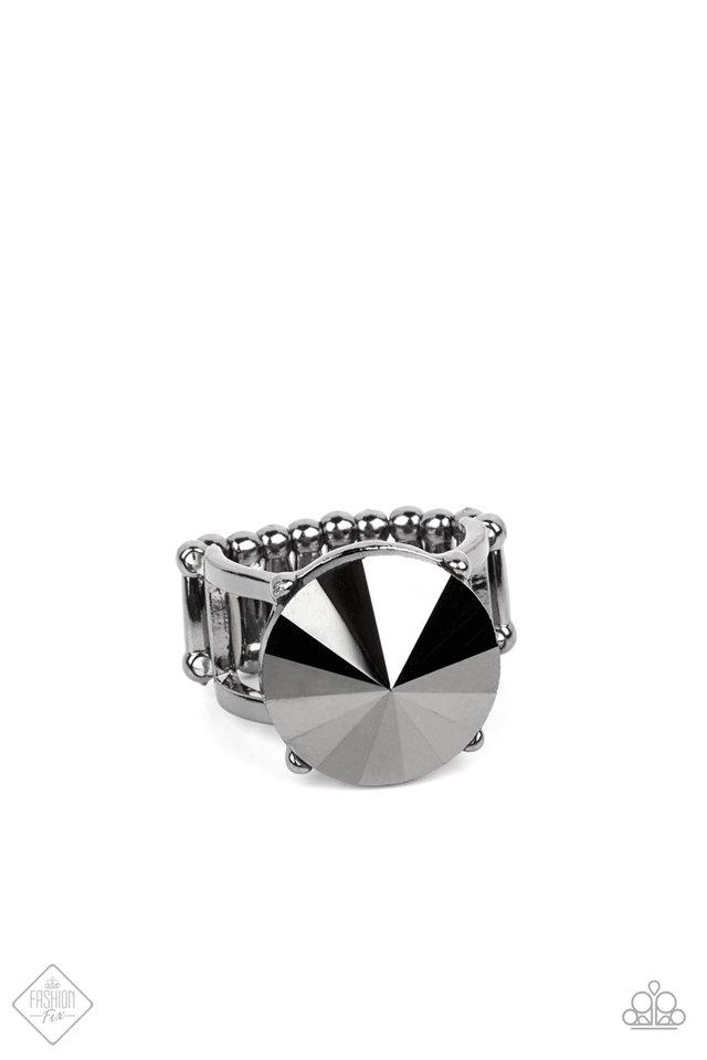 Showcase Social - Black - Paparazzi Ring Image