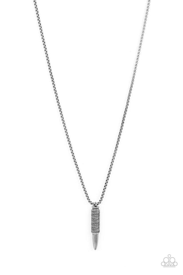 Highland Hunter - Silver - Paparazzi Necklace Image
