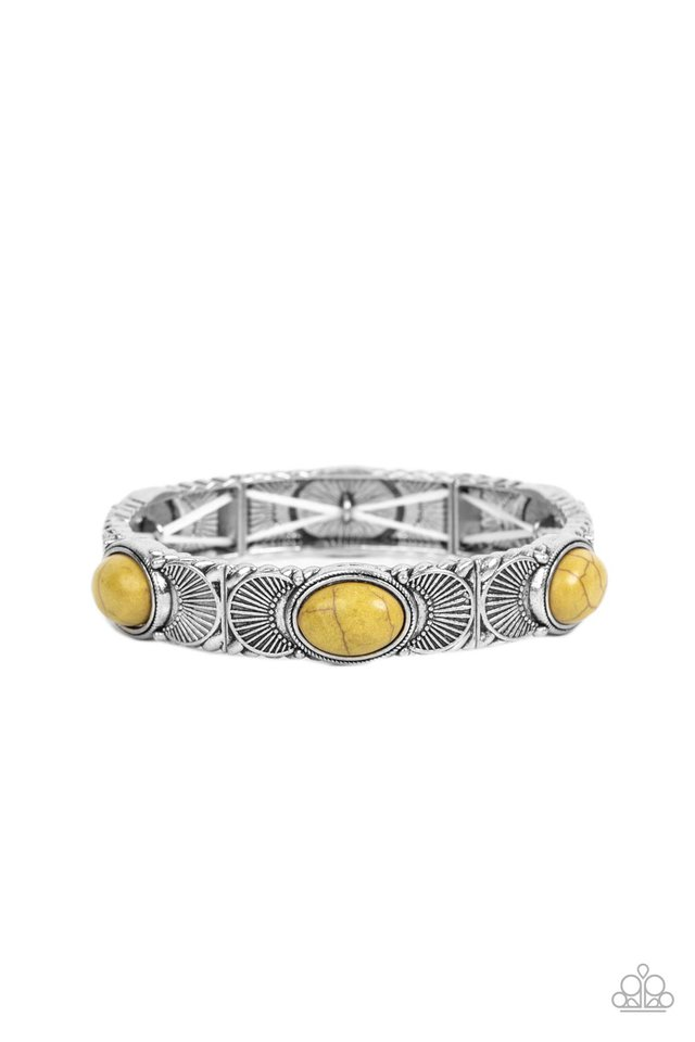Desert Skyline - Green - Paparazzi Bracelet Image
