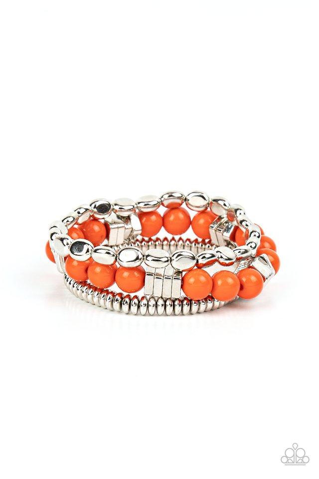 Tour de Tourist - Orange - Paparazzi Bracelet Image