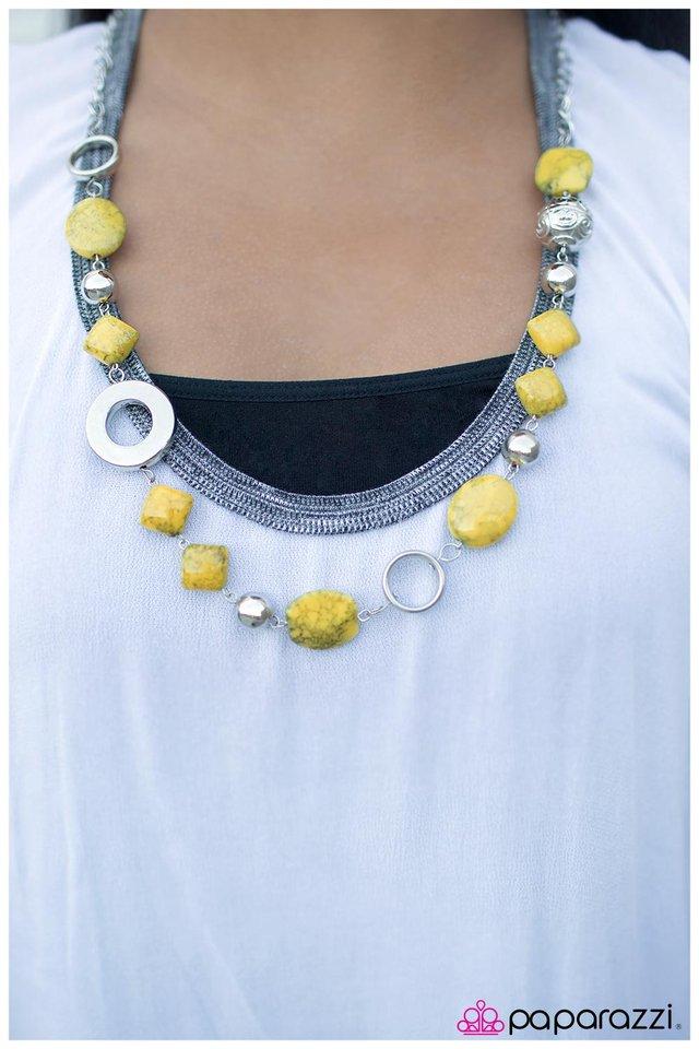 paparazzi accessories  baby yellow