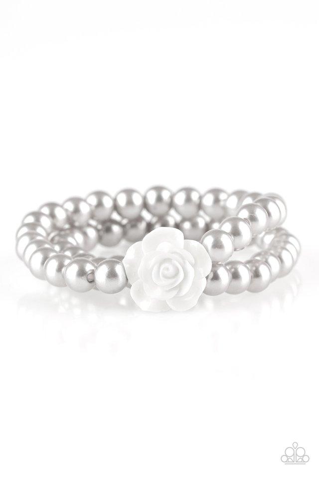 Posh and Posy - Silver - Paparazzi Bracelet Image