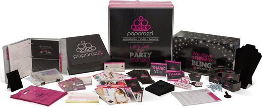 Large Home Party Kit: 200 Pieces of Jewelry